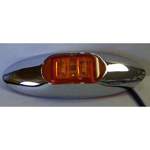 Amber Clearance Marker Light Kit- 2 Led
