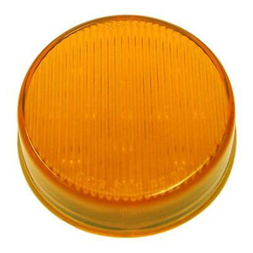 "2.5"" Amber LED Striped Clearance Marker- 13 Led"