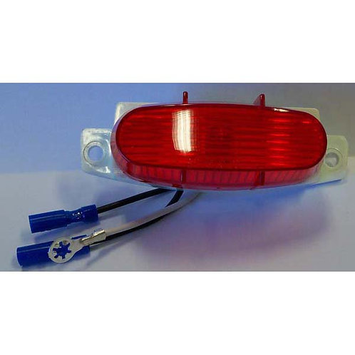 Red Clearance/Side Marker Light- Rail Mount Design