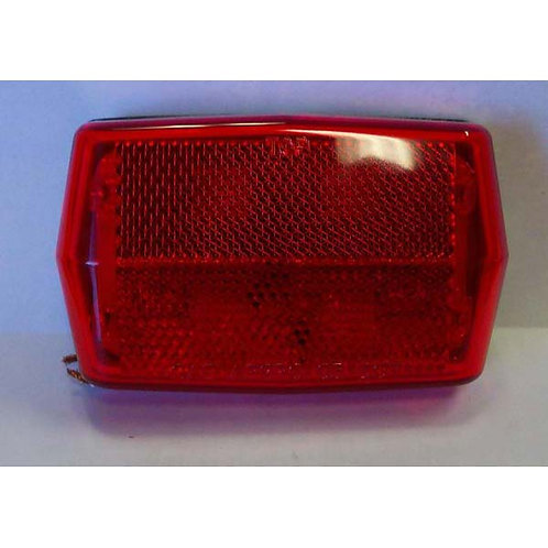 Red Reflective LED Combination Clearance Marker- 8 Led