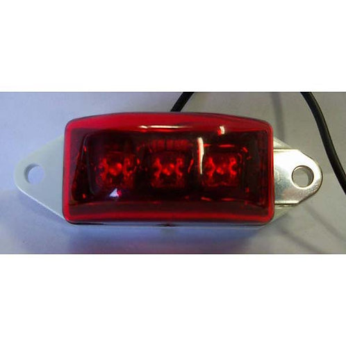 Mini Red Clearance Marker- 3 Led