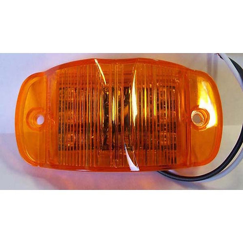 "3"" Amber LED Clearance Marker- 14 Led"