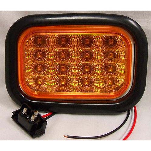 T/S - Rectangle Kit - Amber 16 LED