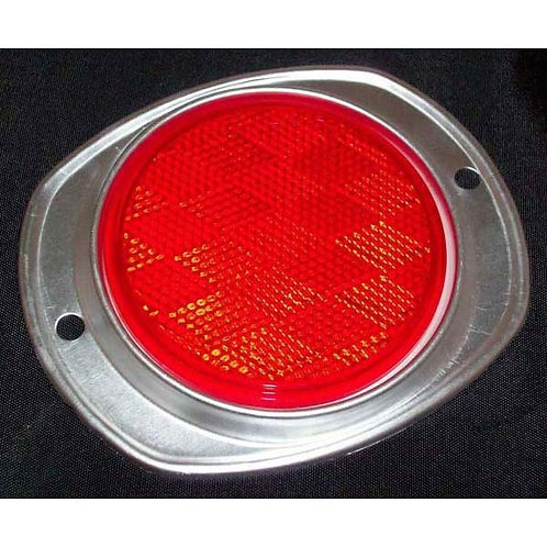 "3"" Red Reflector W/ Aluminum Housing"