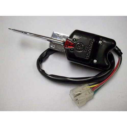 Turn Signal Switch - Black 7-Wire - Kenworth
