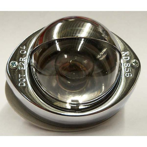 Chrome Step Light W/ Shield