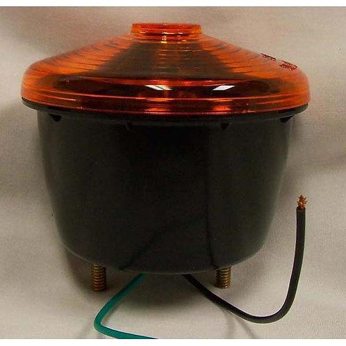 S/T/T - Plastic - Amber 2 Stud Incandescent