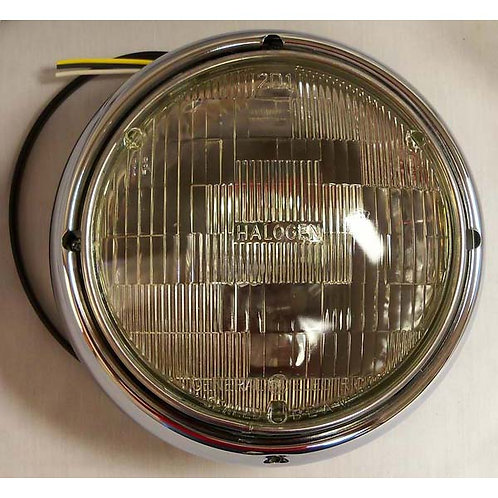 "7"" Round Halogen Headlight Assembly"