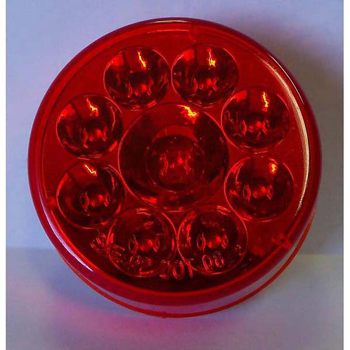 """2.5"""" Red Clearance Marker Light- 9 Led"""