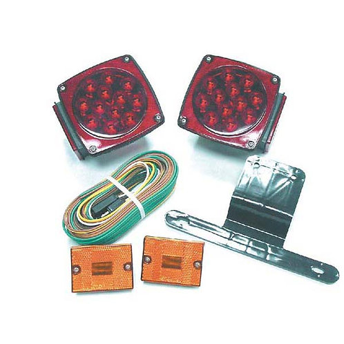 "Under 80"" Wide Submersible LED Trailer Light Kit"