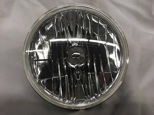 head light round Low Beam Halogen Lens and Reflector