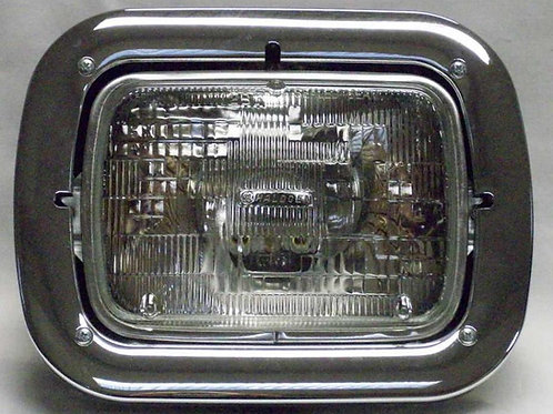 headlight assembly sealed halogen 5x7