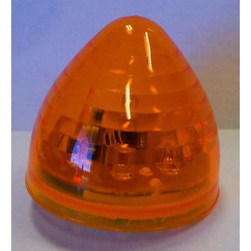 "2"" Amber LED Beehive Clearance Marker- 8 Led"