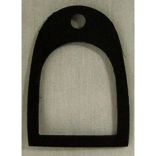 Black Rubber Lens Gasket- 518 Series