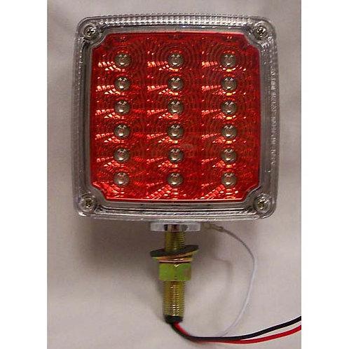 T/S - Vertical - Chrome Housing Reflex - 1 Stud - RH - 18 LED