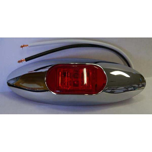 Red Clearance Marker Light Kit- 2 Led