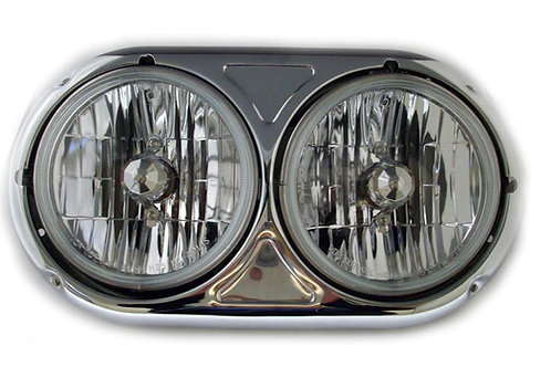 """headlight assembly dual round 5 3/4"""""""