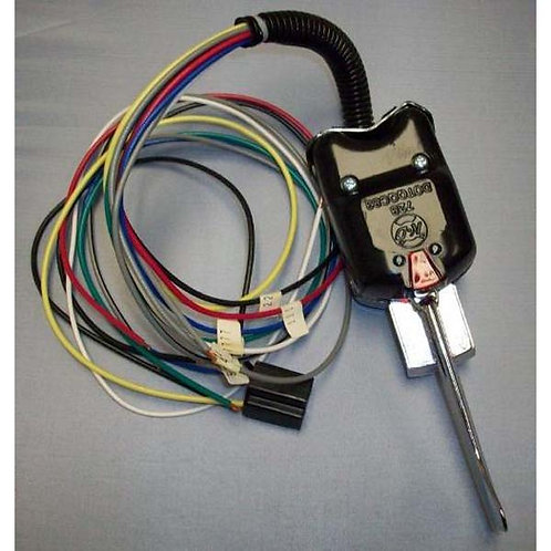 Turn Signal Switch - Black 7-Wire