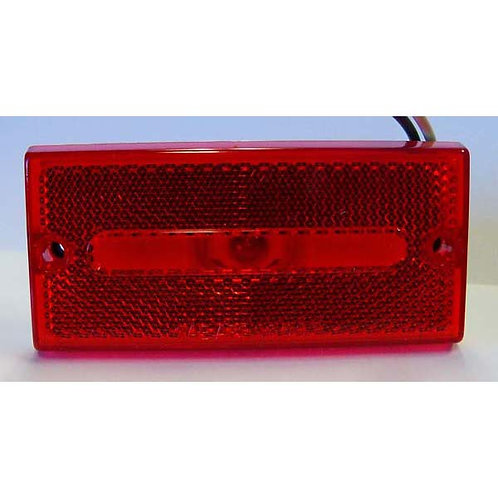 Red Low Profile Clearance Marker