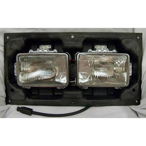Kenworth Large Body Headlight Assembly Right Side With Dual 4x6 Bulbs