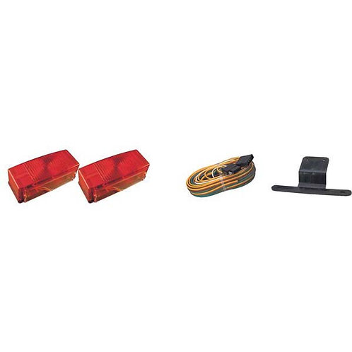 "Over 80"" Wide Submersible Trailer Light Kit"
