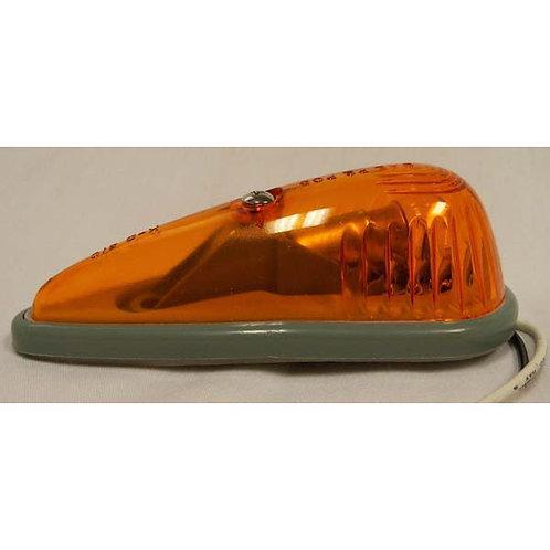 Cab Marker - Contoured W/ Ground - Amber Incandescent