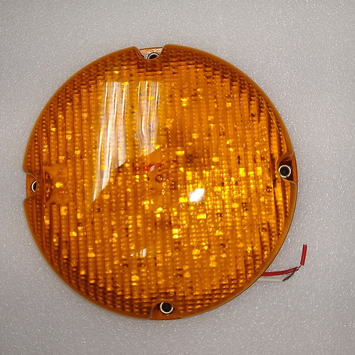 "7"" AMBER LED Park/Turn Bus Light- 60 Led"