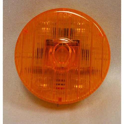 "2"" Amber LED Clearance Marker Light- 5 Led"