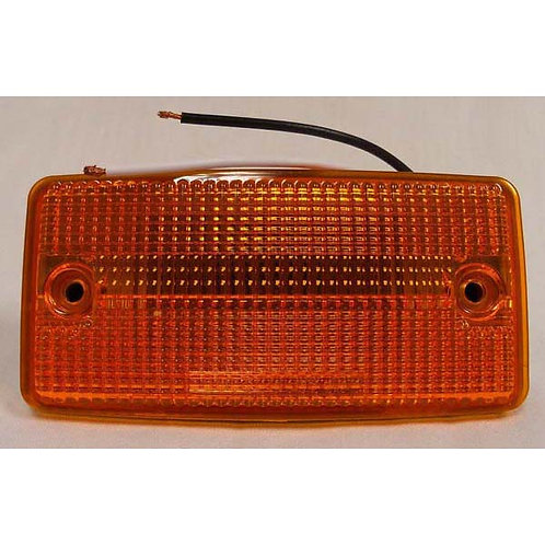 Amber Flush Mount Clearance Marker
