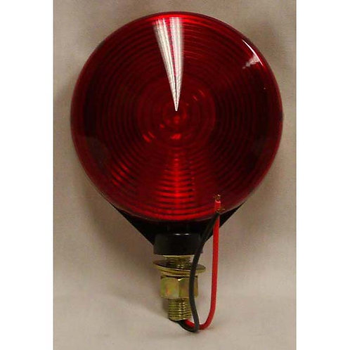 Turn Signal - Red/Amber - Black  Housing - Incandescent