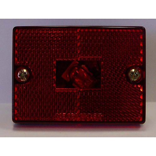 Red Reflective Clearance Marker- Stud Mount