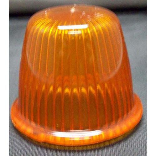 Lens - Amber Acrylic - 2.46 Diameter - 514 Series