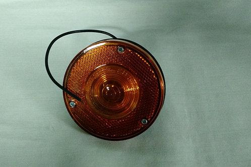 "Marker Light - 3.4"" Round - Single Wire - Amber"