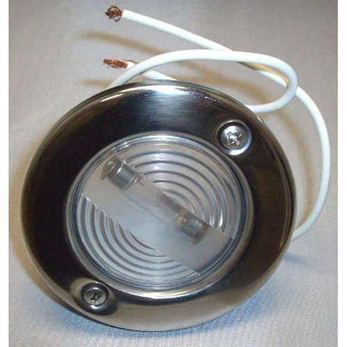 Recessed Deck Or Stern Light For Boat