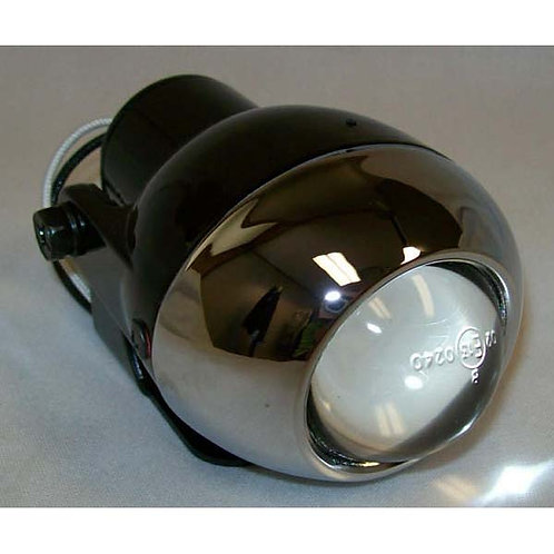 Clear Projector Halogen Docking Light- Chrome Housing