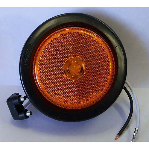 "2.5"" Amber Clearance Marker Kit- 8 Led"