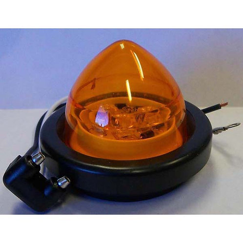 "2"" Amber LED Beehive Clearance Marker Kit- 3 Led"