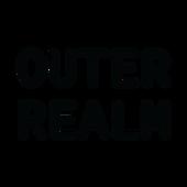 Outer Realm Logo Black Text No Backgroun