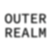 Outer Realm Logo Blaack Text White Backg