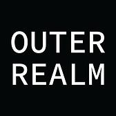 Outer Realm Logo White Text Black Backgr