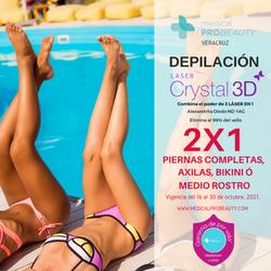 DEPILACION LASER CRYSTAL 3D