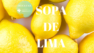 Receta de Sopa de Lima