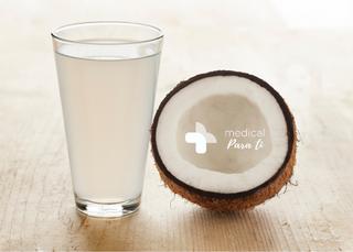 Agua de coco: refrescante, nutritiva y saludable.