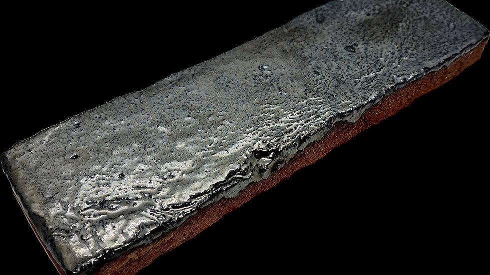 Blackened Silver Glazed Brick Tiles (5323)