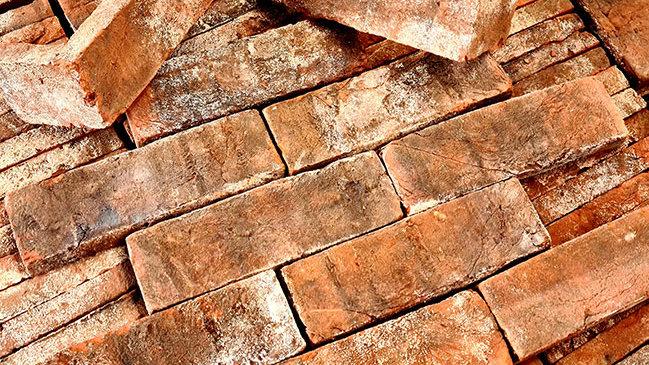 Reclamation Turkish Weathered Brick Tile(s)