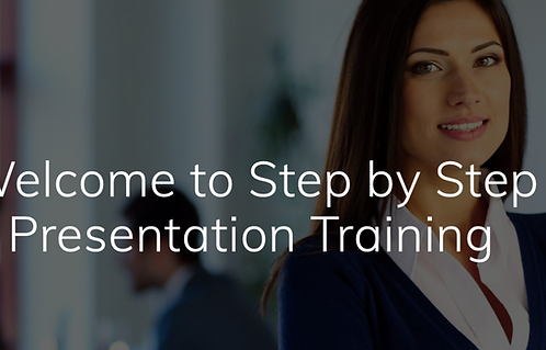 Step by Step Presentation Training for a $100,000 salary