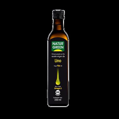 Aceite de Lino orgánico Naturgreen 250cc