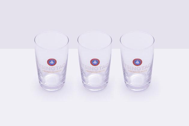 3 vasos Tsingtao