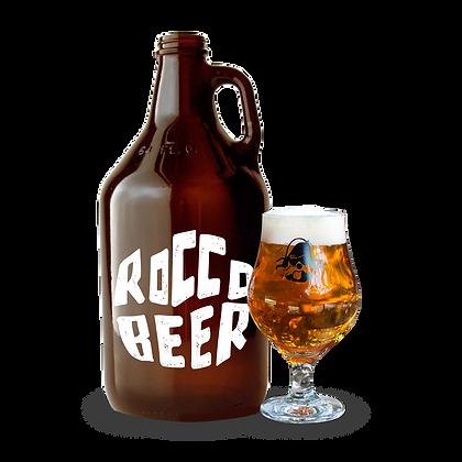 Growler Rocco Beer 1.9 Lt + Copa de Regalo
