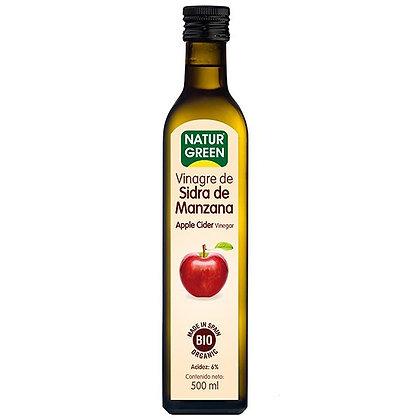 Vinagre Orgánico de Sidra de Manzana Naturgreen 500cc
